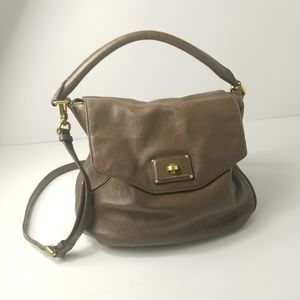 Marc by Marc Jacobs Taupe Leather purse